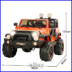 12V Battery Kids Ride On Jeep Electric Childrens Toy Cars 2.4G Remote Control