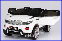 12V Battery Range Rover Evoque Style Electric Kids Ride On Car Parental Control