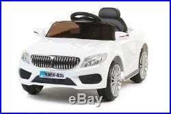 12v Bmw 535 Style Kids Ride On Car Electric Battery Remote Control White Black