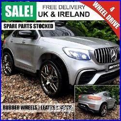 12v Kids Ride on Car Licensed Mercedes Benz GLC 63s Coupe 4WD / Free Delivery