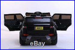 2019 Black Childrens 4x4 Sport Style 12v Electric Kids Childs Ride On Jeep Car