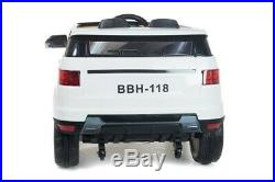 4x4 Range Rover Sport Hse Off Roader 12v Electric Kids Ride On Car Jeep White