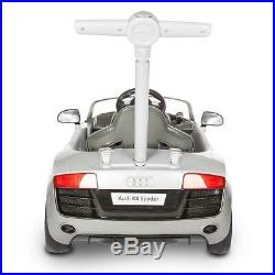 Audi R8 Ride On Car Childrens Kids Push Along Outdoor Toy With SOUND & Steering