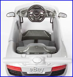 Audi R8 Ride On Car Childrens Kids Toddler Push Along Outdoor Toy Sound Steering