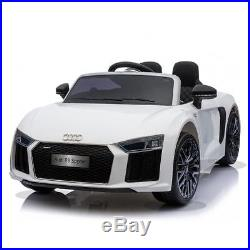 Audi R8 Spyder 12v Remote Control Childrens Kids Electric Ride On Toy Caruk