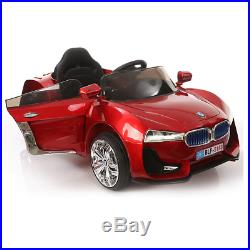 BMW Sports Style 12V Electric Ride on Car For Kids Remote Control, LED&MP3 MUSIC
