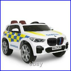BMW X5 Police Car Ride On Vehicle Ride-On Toy Electric Boys Kids Fun New