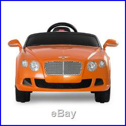 Bentley GTC Ride On Car For Kids 12V dual motor with parental control