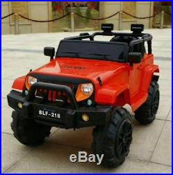 Jeep Wrangler 12v Battery Kids Ride On Electric Childrens Toy Cars