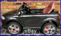 Kids Audi Q7 SUV S Line Style 12v Electric Battery ride on car jeep 4x4 Black