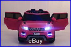 Kids Hse Sport Style 12v Electric Battery Ride On Jeep Car Child Parental Remote