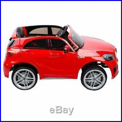 Kids Mercedes A45 12v Electric Licensed Ride on Car Child Jeep SUV Red + Remote