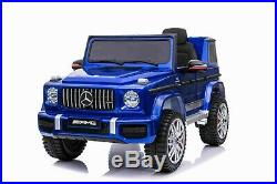 Kids New Licensed Mercedes Benz G63 AMG 12V Battery Electric Ride on Car Toy
