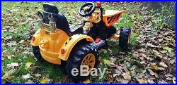 Kids Ride On Tipping Dumper Truck Tractor Electric Children 12v Battery Toy Car