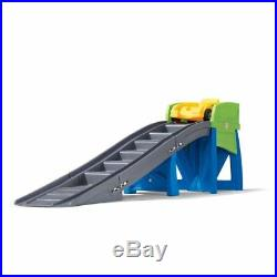 Kids Roller Coaster Ride On Toys Outdoor Play Toddler Riding Toy Car Step Track