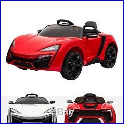 Kids Sports McLaren Style 12V Electric Motor Battery Operated Ride On Car
