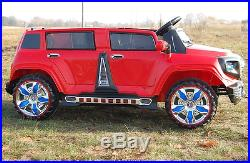LARGE JEEP SUV for two KIDS TRUCK RIDE ON with REMOTE CONTROL ELECTRIC CAR