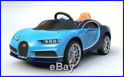 Licensed Bugatti Chiron 12v Battery Kids Ride ON Car With Parental Remote Music