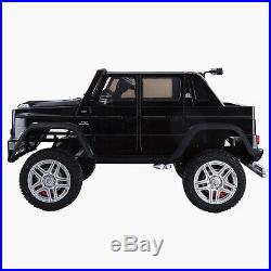 Licensed Mercedes-Benz Maybach G650 2 Seater Kids 24V 4WD Ride On Jeep Car 4x4