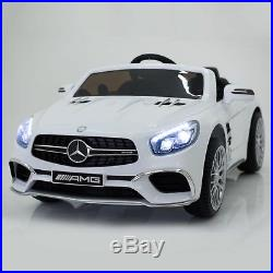 MERCEDES SL65 Ride on Car Official AMG Merc Childrens Electric 12V Kids RC Toy