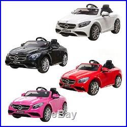 New Electric Kids Mercedes S63 AMG Ride on Car Jeep Parental Control MP3 Input