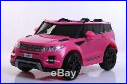 New Pink Childrens 4x4 Sport Style 12v Electric Kids Childs Ride On Jeep Car