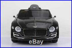 New Uk Official Bentley Exp12 12v Kids Ride On Car Electric Battery Suv Jeep R/c