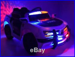 POLICE CAR KIDS RIDE ON REMOTE CONTROL ELECTRIC CAR Police siren police sounds