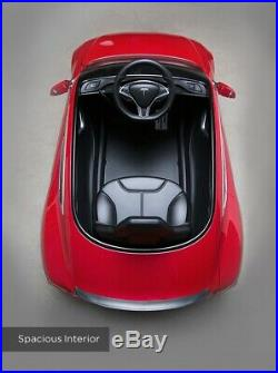 Radio Flyer Tesla Model S Ride on Electric Electric Car for kids White