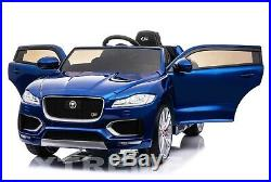 XTREME Ride On Jaguar F-PACE S Childs / KIDS New Luxury 12V CAR REMOTE CONTROL